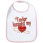 Taylor Lassoed My Heart Bib