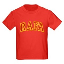 Rafa Red & Yellow T