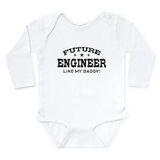 Future Engineer Long Sleeve Infant Bodysuit