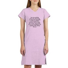 We The Unwilling Women's Nightshirt