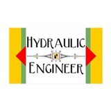 Hydraulic Engineer Block 38.5 x 24.5 Wall Peel