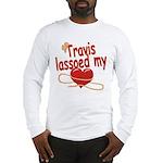 Travis Lassoed My Heart Long Sleeve T-Shirt