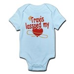 Travis Lassoed My Heart Infant Bodysuit