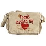 Travis Lassoed My Heart Messenger Bag