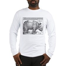 Durer Rhino Long Sleeve T-Shirt