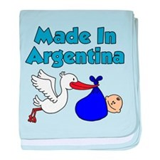 Made In Argentina Boy baby blanket