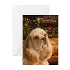 Cocker Holiday Cards (Pk of 10)