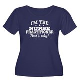 Funny Nurse Practitioner Women's Plus Size Scoop N