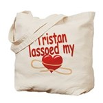 Tristan Lassoed My Heart Tote Bag