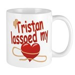 Tristan Lassoed My Heart Mug