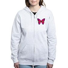 Butterfly Zip Hoody
