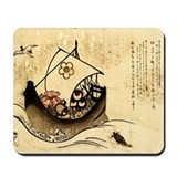 Journey In Boat Mousepad