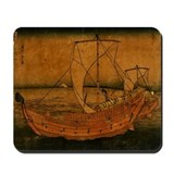 Boat On Water Mousepad