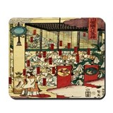 Men In Temple Mousepad