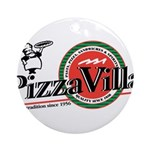Pizza VIlla Ornament (Round)