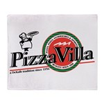 Pizza VIlla Throw Blanket
