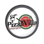 Pizza VIlla Wall Clock