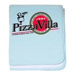 Pizza VIlla baby blanket