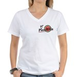 Pizza VIlla Women's V-Neck T-Shirt