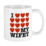 I Love My Wifey Small Mug