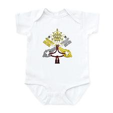 Vatican Color Infant Creeper