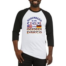 USA / German Parts Baseball Jersey