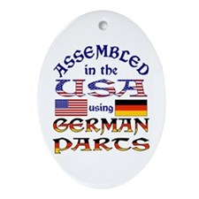 USA / German Parts Ornament (Oval)