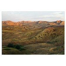 Yellow Mounds, Badlands National Park, South Dakot