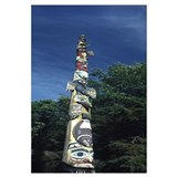 Totem pole, Totem Bight State Historical Park, Ket