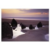 Rocks on the beach, Sandymouth Bay, Bude, Cornwall