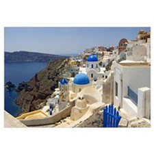 Church, Oia, Santorini, Cyclades Islands, Greece