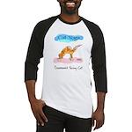 Cat Yoga Baseball Jersey