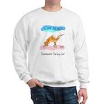 Cat Yoga Sweatshirt