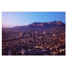 Aerial view of a cityscape, El Paso, Texas-Mexico