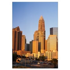 Buildings in a city, Charlotte, Mecklenburg County