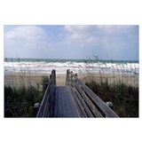 Boardwalk on the beach, Nokomis, Sarasota County,