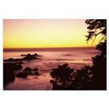 Sea at sunset, Point Lobos State Reserve, Carmel,