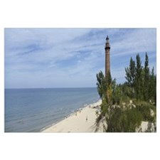 Lighthouse at the lakeside, Little Sable Point Lig