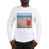 Melbourne beach Long Sleeve T-Shirt