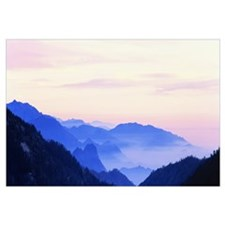 Sunset Sequoia National Park CA