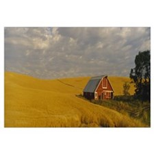 Red Barn Palouse WA