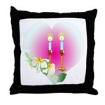 Let There Be Peace Throw Pillow