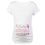Future Astronaut Pink Maternity T-Shirt