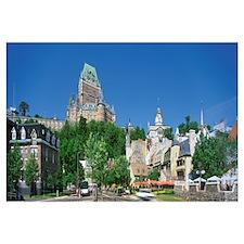 Cityscape Quebec City Quebec Canada
