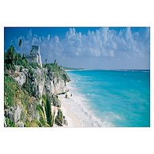 El Castillo Quintana Roo Caribbean Sea Tulum Mexic