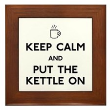 Keep Calm Framed Tile