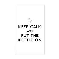 Keep Calm Sticker (Rectangle)