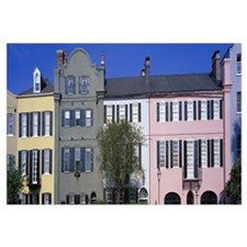 Rainbow Row Historic District Charleston SC