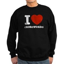 I love Crosswords Sweatshirt