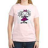 Smile Women's Pink T-Shirt